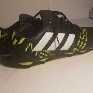 Messi size 12 mens soccer cleats Adidas
